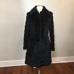 Vintage Wilson's leather fur coat